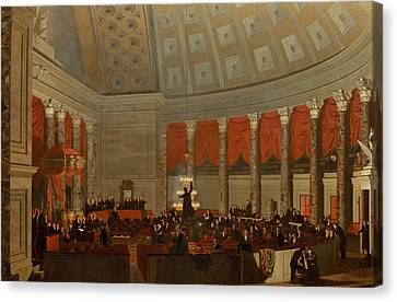 The House Of Representatives Canvas Print