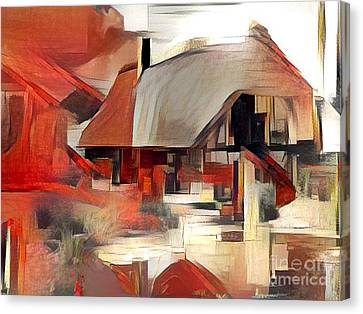 tHE hOUSE Canvas Print by Victor Arriaga