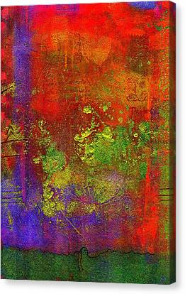 Canvas Print featuring the painting The Human Spirit by Angela L Walker