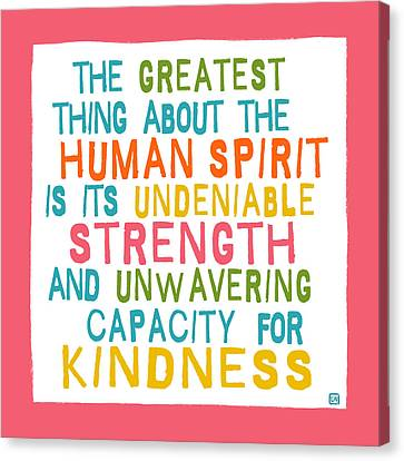 The Human Spirit Canvas Print by Lisa Weedn