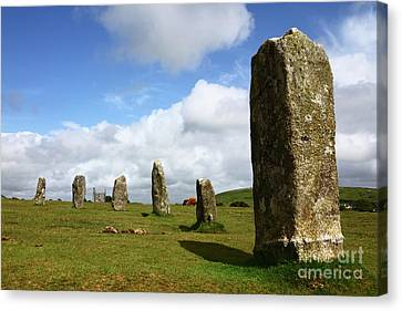 The Hurlers Stone Circle Bodmin Moor Cornwall Canvas Print