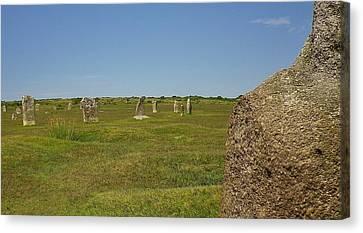 The Hurlers Stone Circles Bodmin Moor Canvas Print