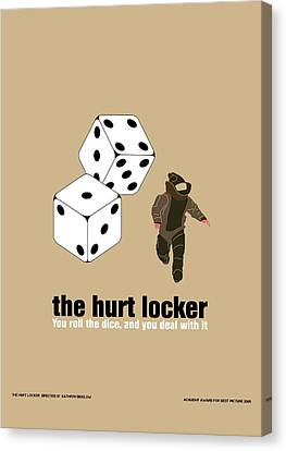 The Hurt Locker Canvas Print by Gimbri