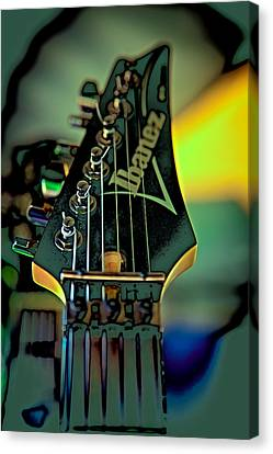 The Ibanez Canvas Print by David Patterson