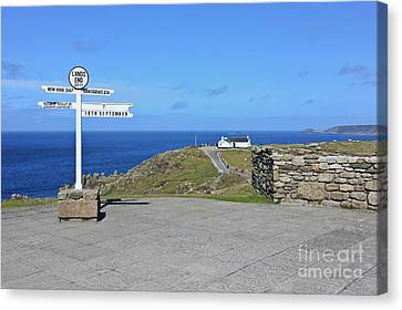 The Iconic Lands End Canvas Print by Terri Waters