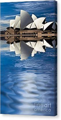 The Iconic Sydney Opera House Canvas Print by Avalon Fine Art Photography