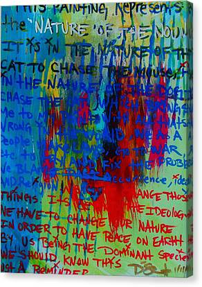 The Idea Canvas Print