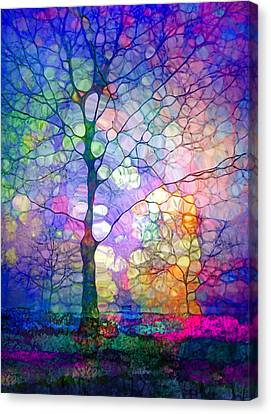 The Imagination Of Trees Canvas Print by Tara Turner