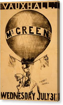 The Incredible Mr. Green Canvas Print
