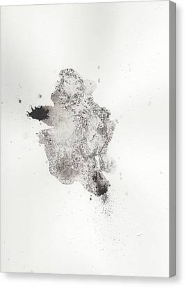 The Inexplicable Ignition Of Time Expanding Into Free Space Phase One Number 14 Canvas Print by Mark M  Mellon