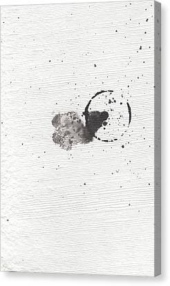 The Inexplicable Ignition Of Time Expanding Into Free Space Phase One Number 18 Canvas Print by Mark M  Mellon