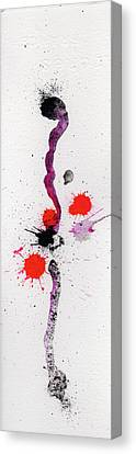 The Inexplicable Ignition Of Time Expanding Into Free Space Phase Two Number 01 Canvas Print by Mark M  Mellon