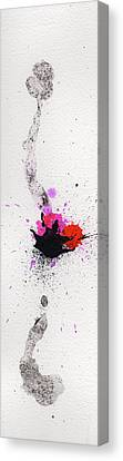 The Inexplicable Ignition Of Time Expanding Into Free Space Phase Two Number 02 Canvas Print by Mark M  Mellon