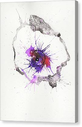 The Inexplicable Ignition Of Time Expanding Into Free Space Phase Two Number 04 Canvas Print by Mark M  Mellon