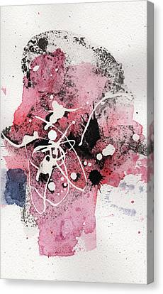 The Inexplicable Ignition Of Time Expanding Into Free Space Phase Two Number 14 Canvas Print by Mark M  Mellon
