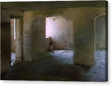 The Inner Place Canvas Print by Ron Jones