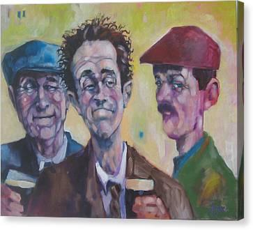 The Inside Joke Canvas Print by Kevin McKrell