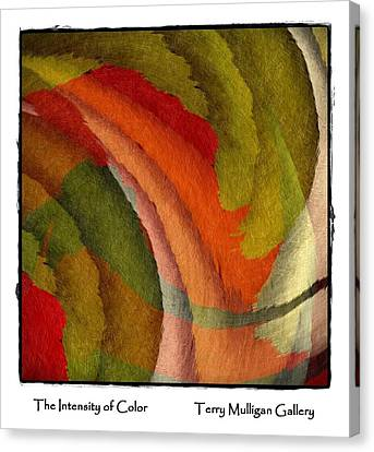 Web Gallery Canvas Print - The Intensity Of Color by Terry Mulligan