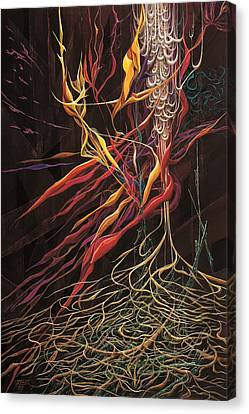The Intensity Of Dreams Canvas Print by Charles Cater