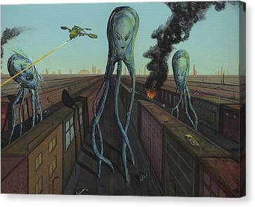 The Intruders Canvas Print