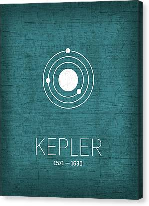 The Inventors Series 003 Kepler Canvas Print