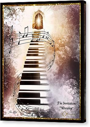 The Invitation- Worship Canvas Print