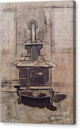 The Iron Stove Canvas Print