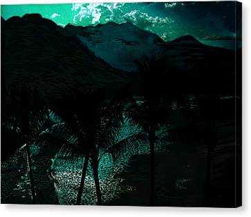 The Islands Canvas Print by Paul Sutcliffe