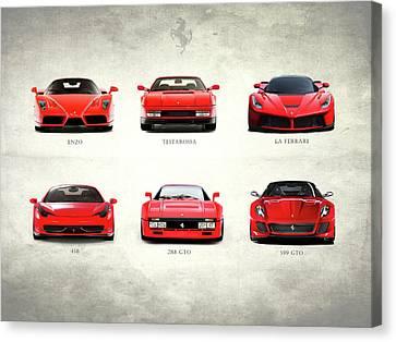 Gto Canvas Print - The Italian Supercar Collection by Mark Rogan