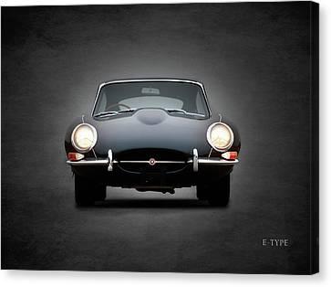 The Jaguar E Type Canvas Print