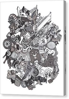 The Januszeski Three Canvas Print by Tyler Auman