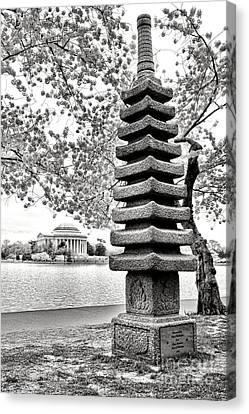 The Japanese Pagoda Canvas Print by Olivier Le Queinec