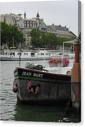 Canvas Print featuring the photograph The Jean Bart by Nancy Taylor