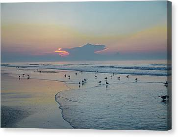 Canvas Print featuring the photograph The Jersey Shore - Wildwood by Bill Cannon