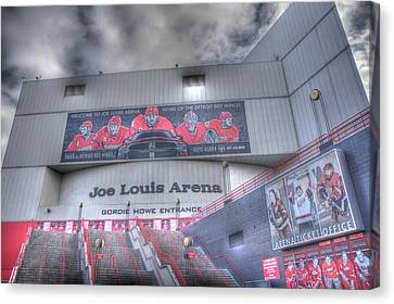 White River Canvas Print - The Joe by Chris Coleman