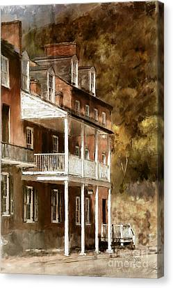 The John Brown Museum Harper's Ferry Canvas Print by Lois Bryan