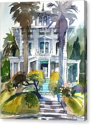 The John Muir House Canvas Print by Naomi E Heid