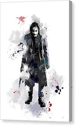 The Joker Canvas Print by Marlene Watson