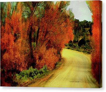 The Journey Home Canvas Print by Lenore Senior