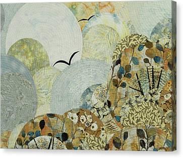 The Joy Of Soaring Canvas Print by Linda Beach