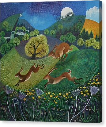 The Joy Of Spring Canvas Print by Lisa Graa Jensen