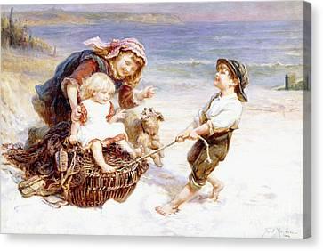 The Joy Ride  Canvas Print