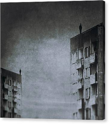 Melancholy Canvas Print - The Jumper by Art of Invi