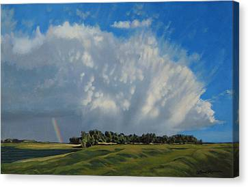 The June Rains Have Passed Canvas Print by Bruce Morrison