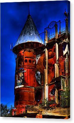 The Junk Castle Canvas Print by David Patterson