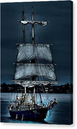 The Kaisei Brigantine Tall Ship Canvas Print by David Patterson