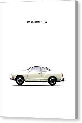 The Karmann Ghia Canvas Print