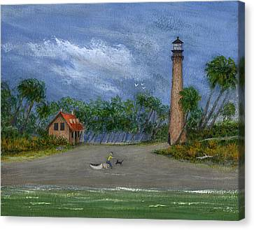 The Keeper's Friend Canvas Print