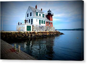 The Keeper's House Canvas Print