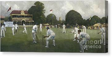 The Kent Eleven Champions, 1906 Canvas Print